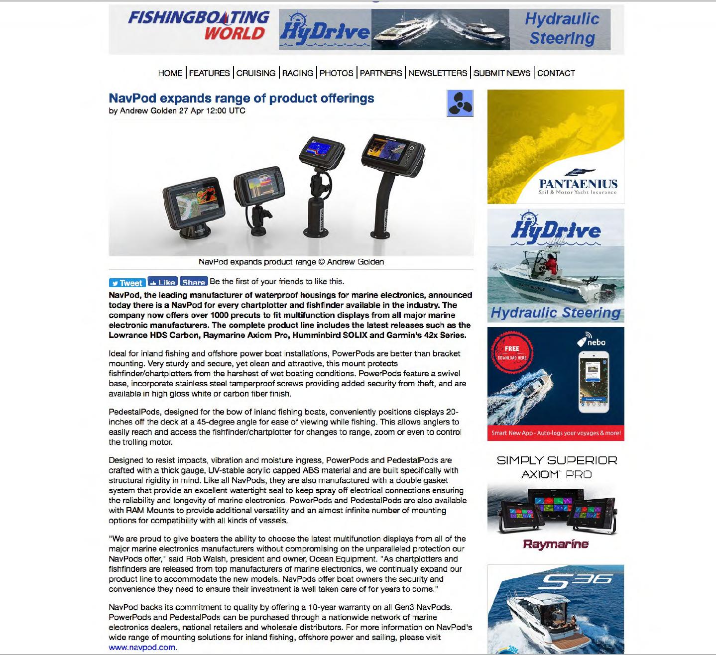 Magazine Editorials - NavPod